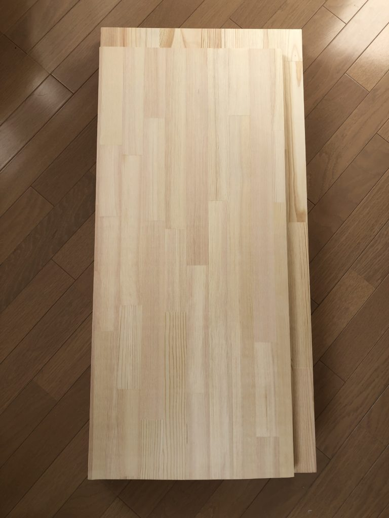 カット後の木材
