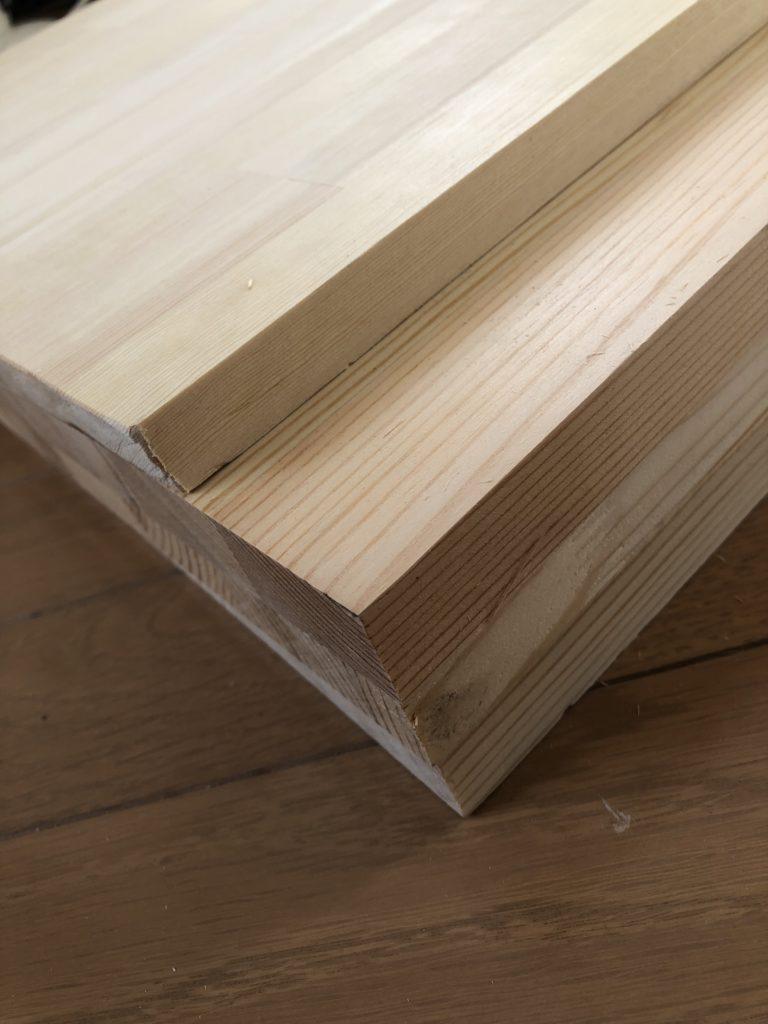 木材はしっこ